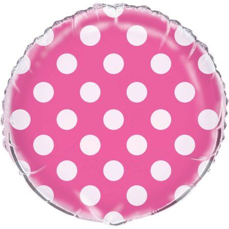 ... Picture 2 of 2  sc 1 st  eBay & Pink Polka Dots Spots Birthday Party Baby Shower Girls Spotty ...