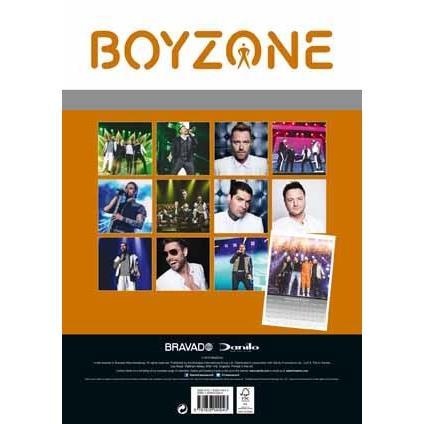 Calendar-Boyzone-2020-Official-A3-Pop-Music-Group-Band-Sticker-Gift thumbnail 3