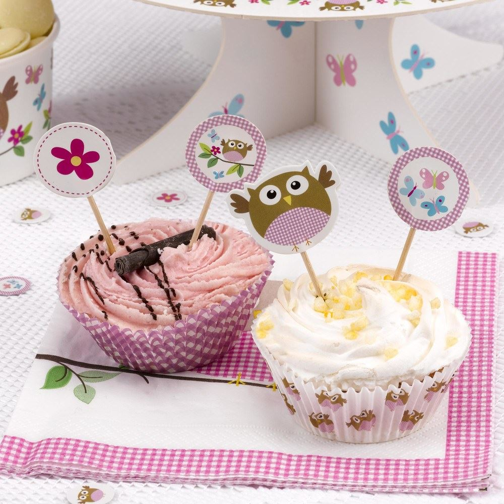 Pleasing Party Decorations Baby Shower Little Owls First Birthday Tableware Funny Birthday Cards Online Hendilapandamsfinfo