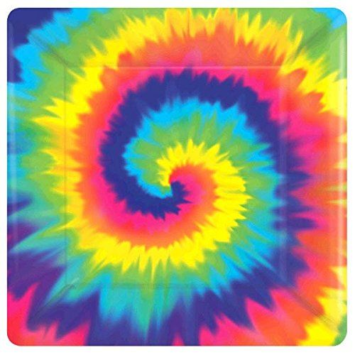 retro themed decorations feeling groovy 60s themed party tableware retro tie dye