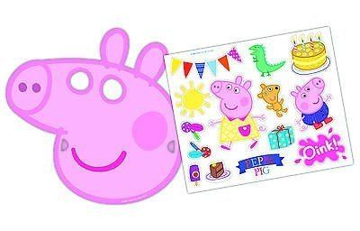 Peppa Pig Childrens Birthday Party Supplies Tableware  sc 1 st  Castrophotos & Peppa Pig Plastic Plates - Castrophotos