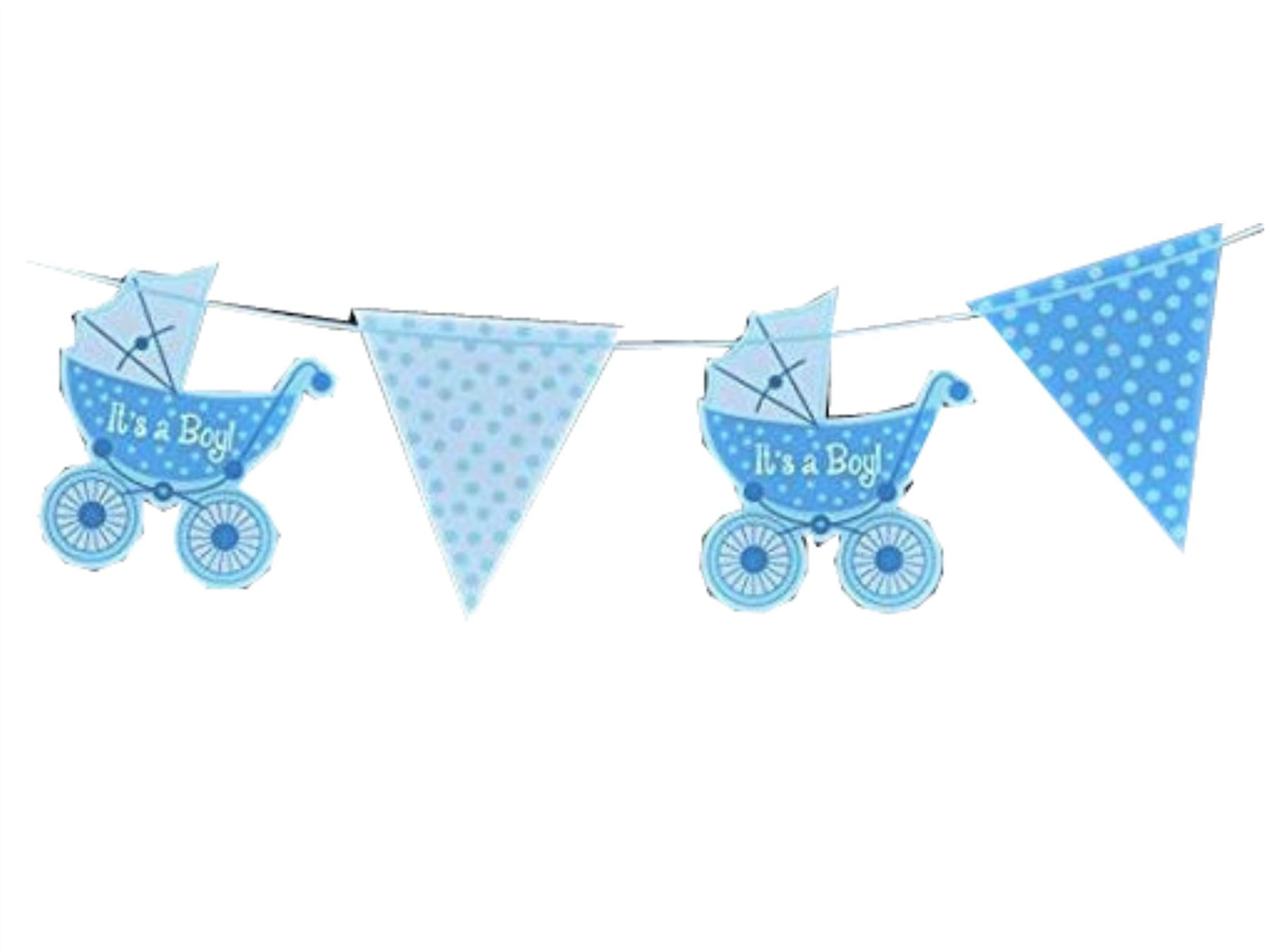 Blue baby shower banner boy banners party decorations foil Baby shower banners