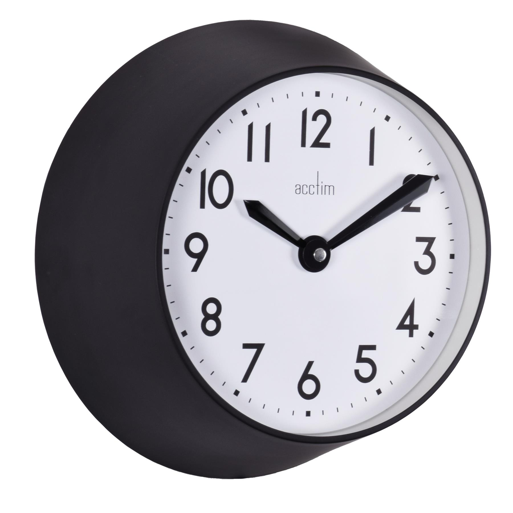 Acctim Wixham Retro Small Deep 25cm Wall Clock Kitchen Home Or Office Ebay