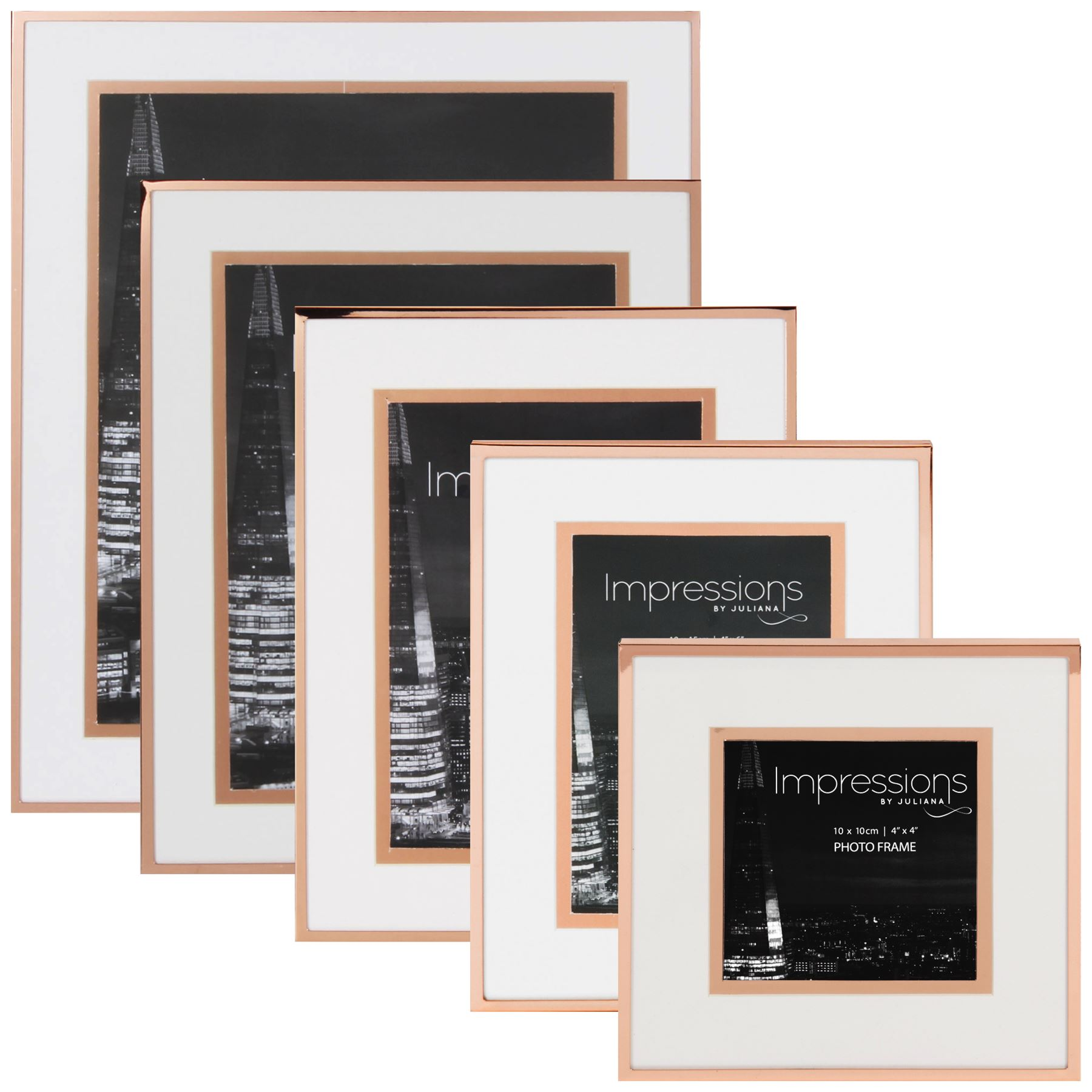 Impressions by Juliana Copper & White Photo Frame Picture Frames ...
