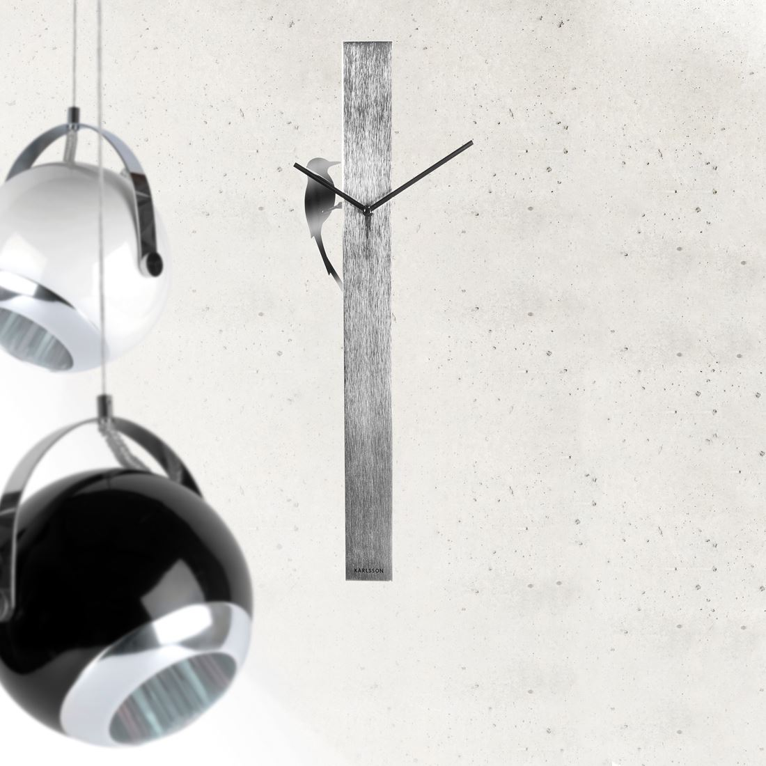 Silver pendulum wall clock images home wall decoration ideas long wall clock images home wall decoration ideas contemporary pendulum wall clock image collections home wall amipublicfo Images