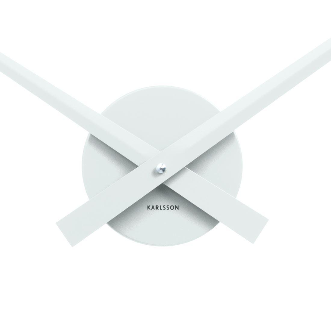 Karlsson Little Big Time Clock Aluminum Wall Clock Gold