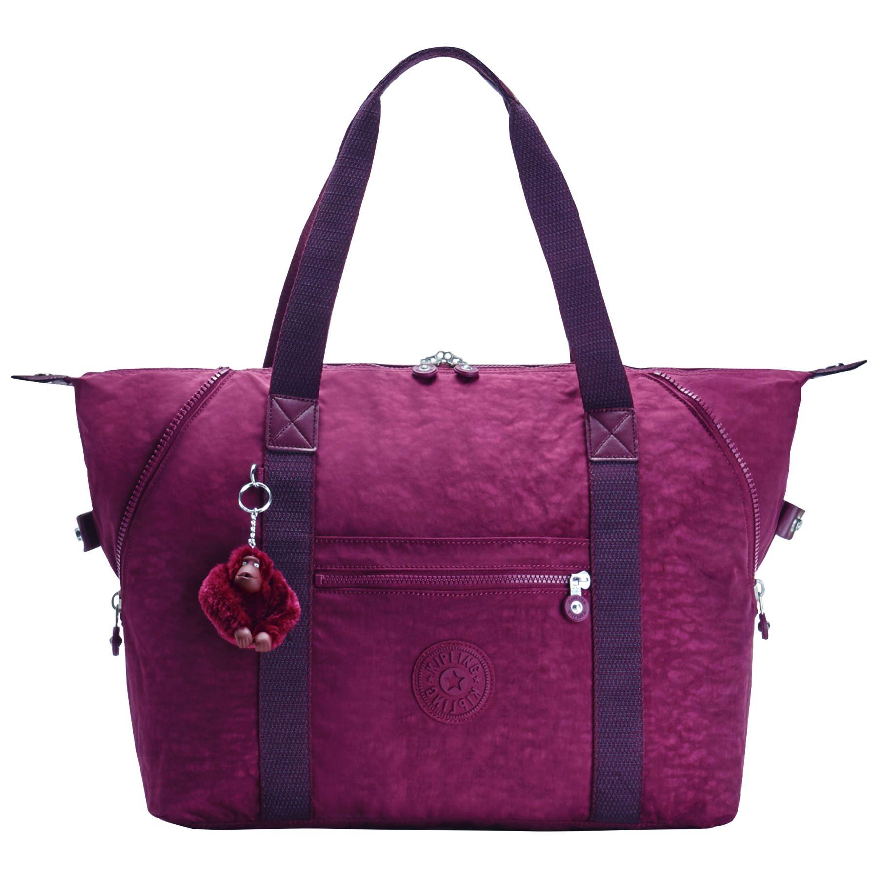 Kipling-Art-M-Shape-amp-Size-Changling-Travel-Gym-Shopping-Shoulder-Tote-Bag