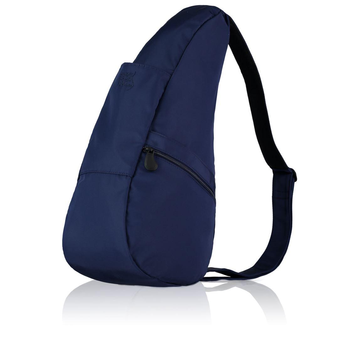 2c47ef605aab Healthy Back Bag Microfibre Navy Medium Ladies   Womens Handbags