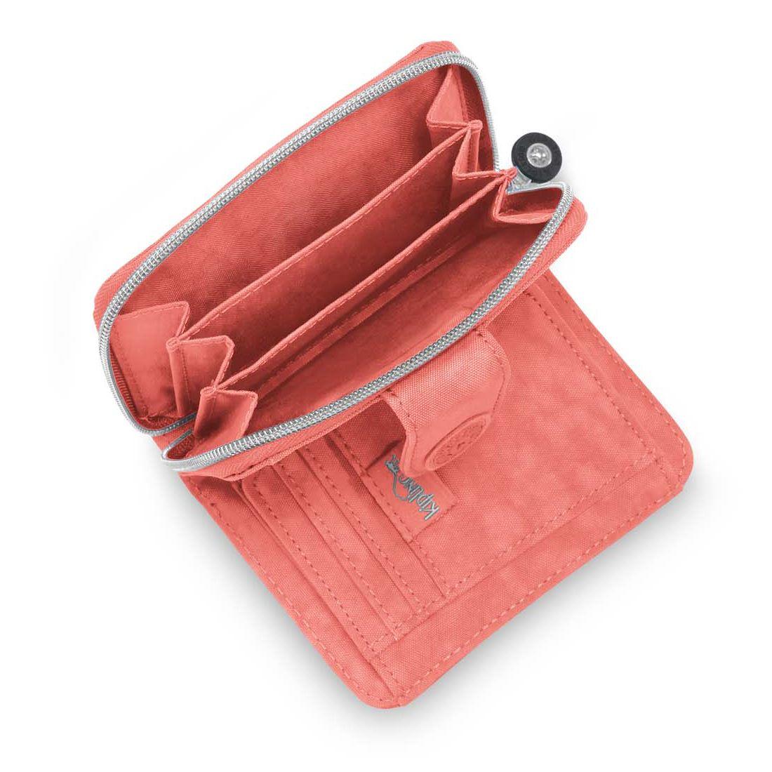 kipling new money medium ladies womens wallet purse