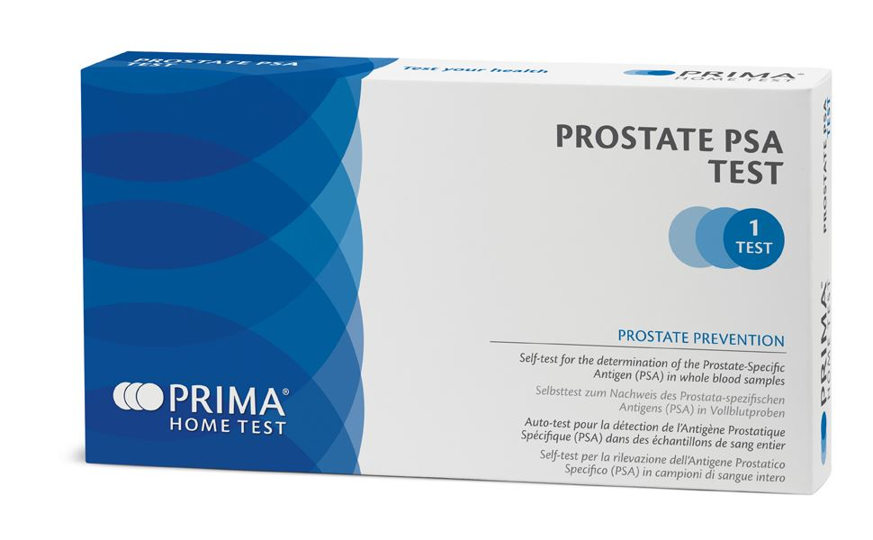 test autodiagnosi prostata psa blood test