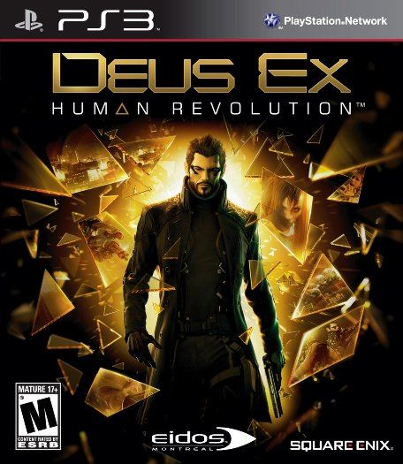 Deus Ex: Human Revolution - Augmented Cybernetics Conspiracy Action PS3 NEW