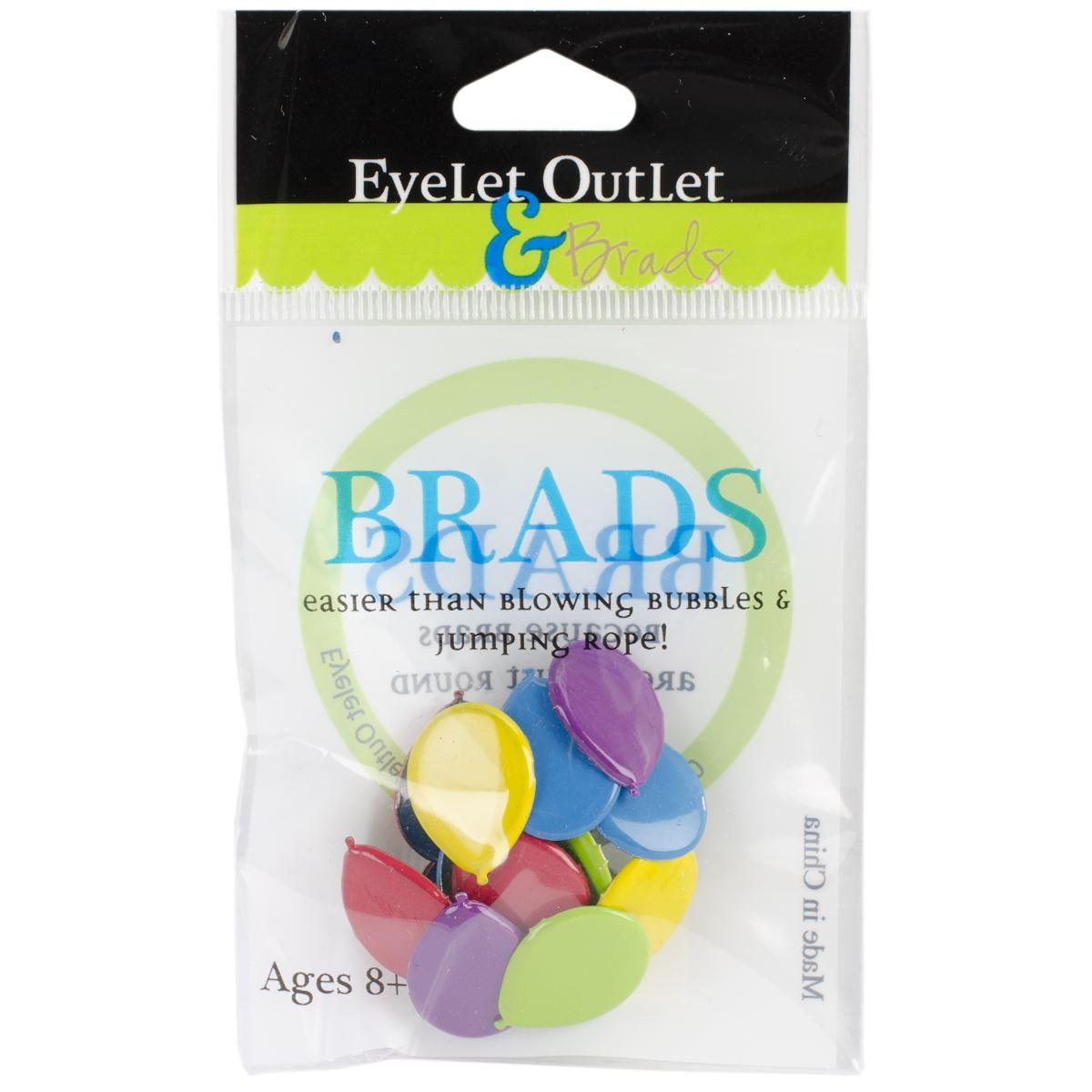 Dark Eyelet Outlet QBRD2-12  Shape Brads 12//Pkg-Sunglasses