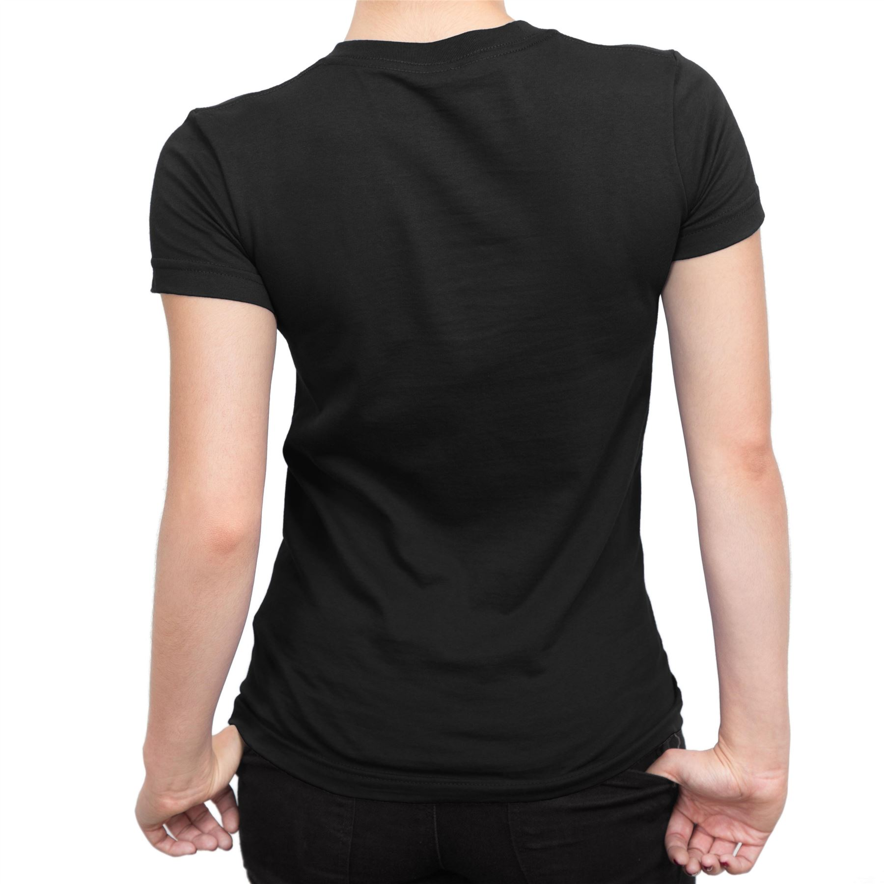 Harry Potter Stag Neon Children/'s Unisex Black T-Shirt