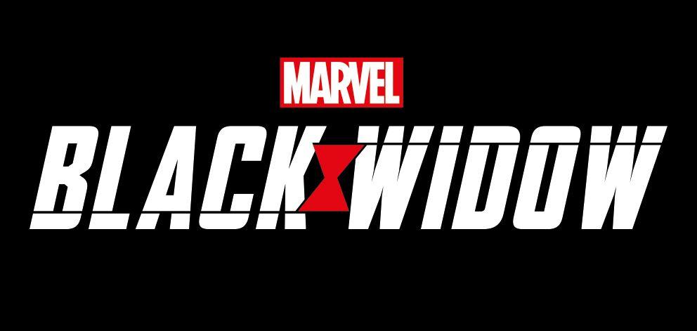 Marvel Studios Black Widow Movie Logo Text Adults Unisex White Hoodie