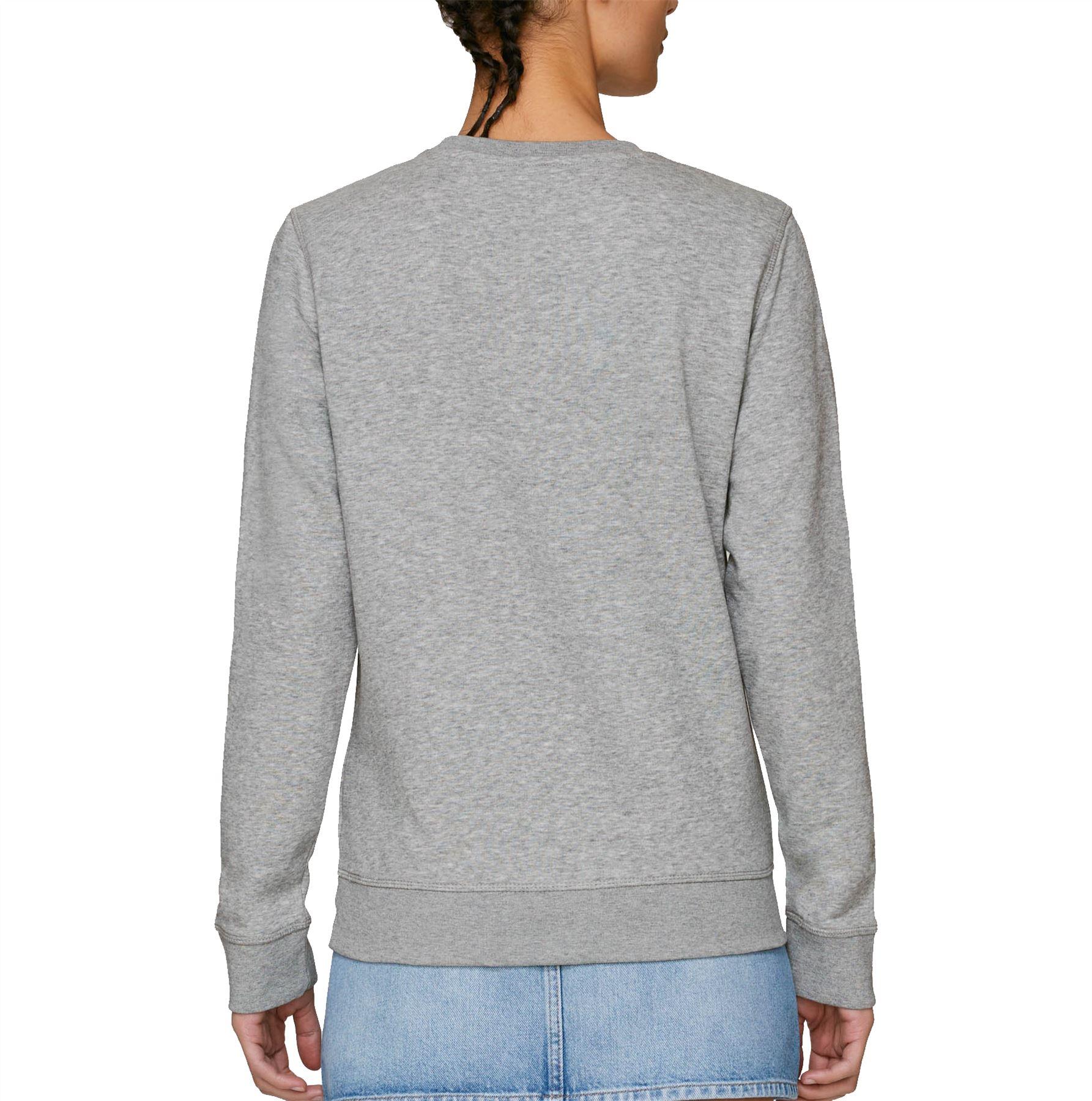 Flawless Victory Heather Grey Adult Crew Neck Sweatshirt