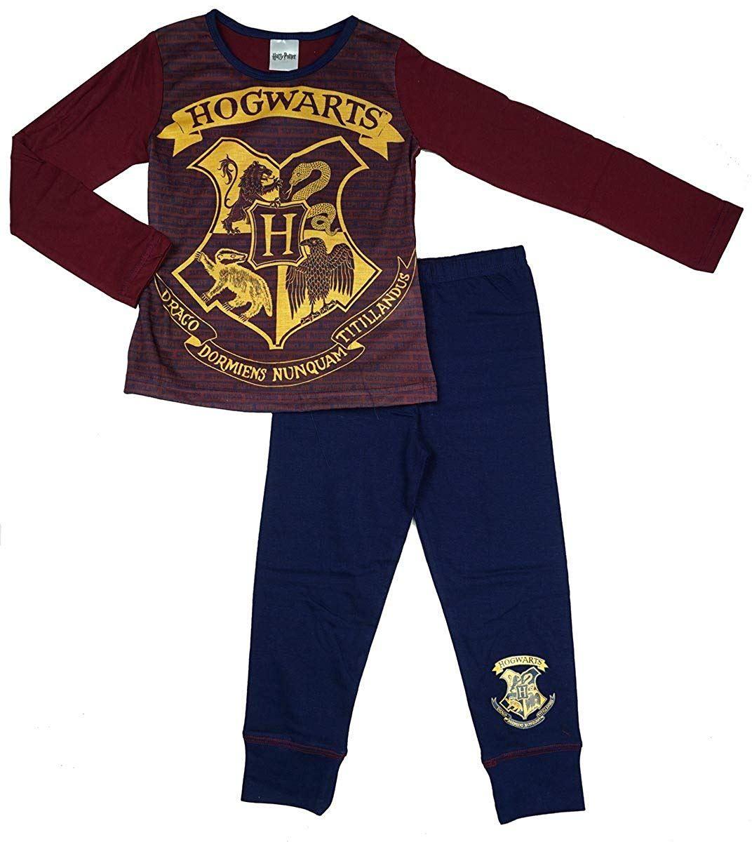 922c8a1a2 Harry Potter Hogwarts Girls Snuggle Fit Pyjamas | eBay