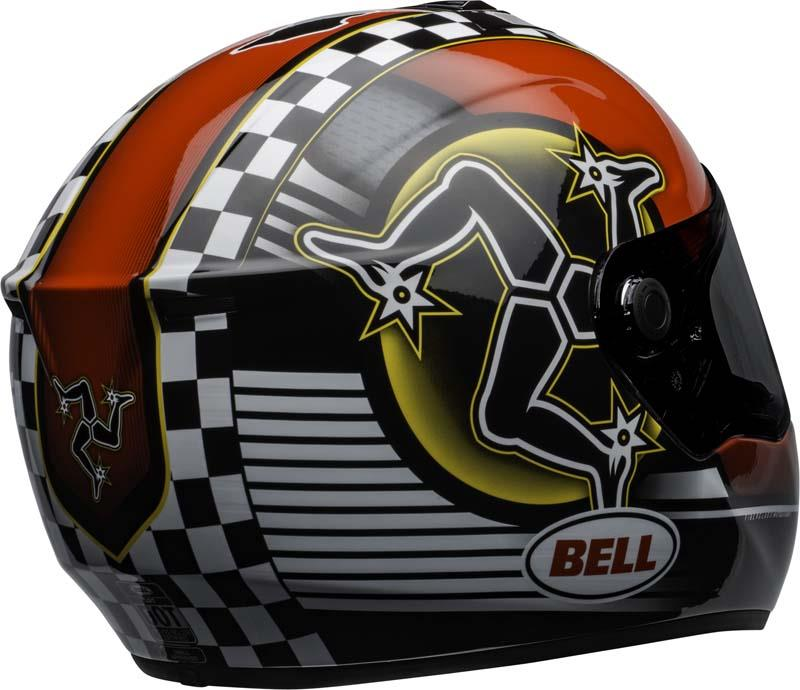 Bell-SRT-Helmet-Full-Face-Eyewear-Friendly-Fiberglass-DOT-SNELL-M2015-XS-2XL miniature 49