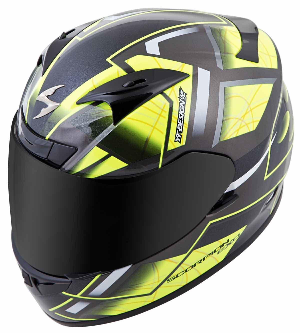 Scorpion-EXO-R710-Helmet-Fiberglass-Full-Face-DOT-SNELL-M2015-Certified-XS-2XL miniature 27