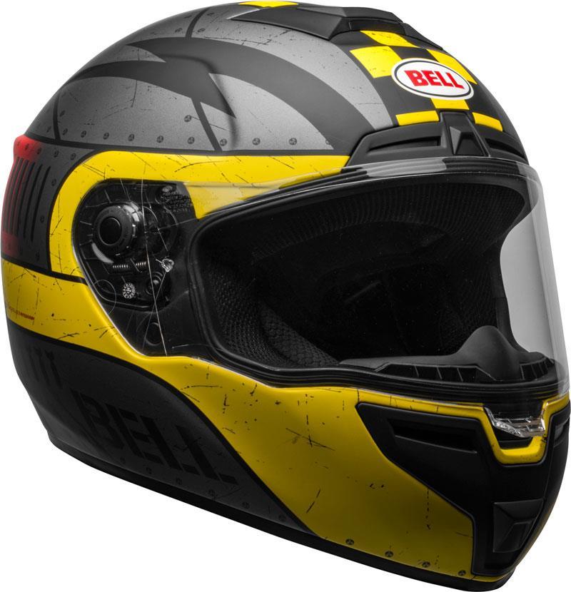 Bell-SRT-Helmet-Full-Face-Eyewear-Friendly-Fiberglass-DOT-SNELL-M2015-XS-2XL miniature 76