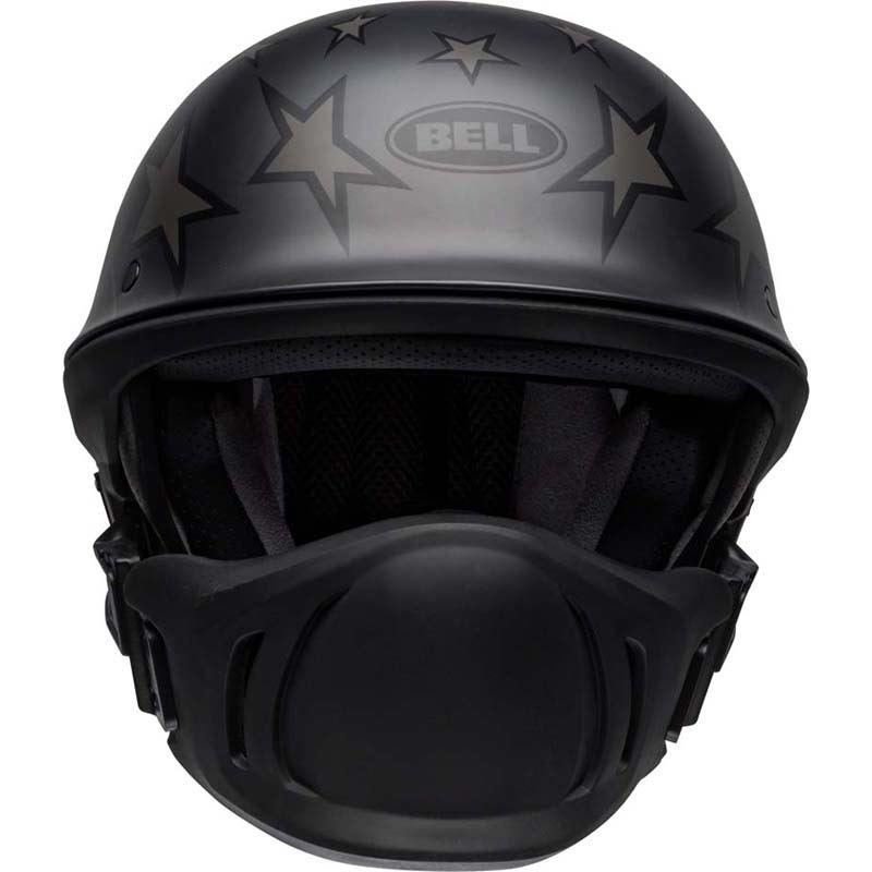 Bell-Rogue-Helmet-Muzzle-Open-Face-Speaker-Pockets-Motorcycle-DOT-2020-XS-2XL miniature 12