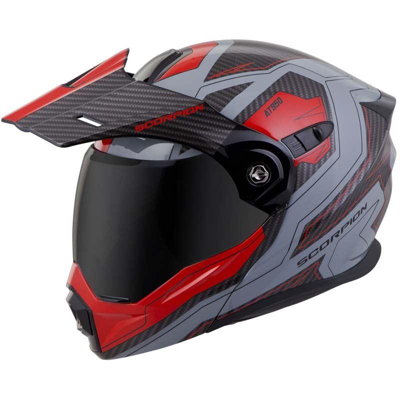 Scorpion-EXO-AT950-Helmet-Flip-Up-Modular-Dual-Sport-Adventure-ADV-DOT-XS-3XL miniature 63