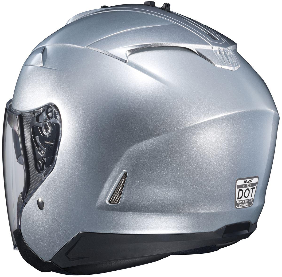 Adult Sizes XS-2XL WINE HJC IS-33 II Open-Face Motorcycle Helmet
