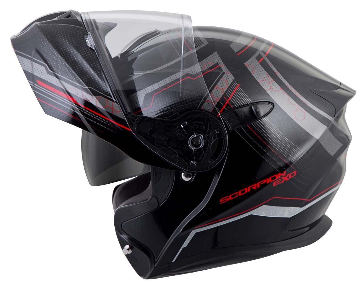 Scorpion-EXO-GT920-Helmet-Sport-Touring-Modular-Flip-Up-DOT-Approved-XS-3XL miniature 26