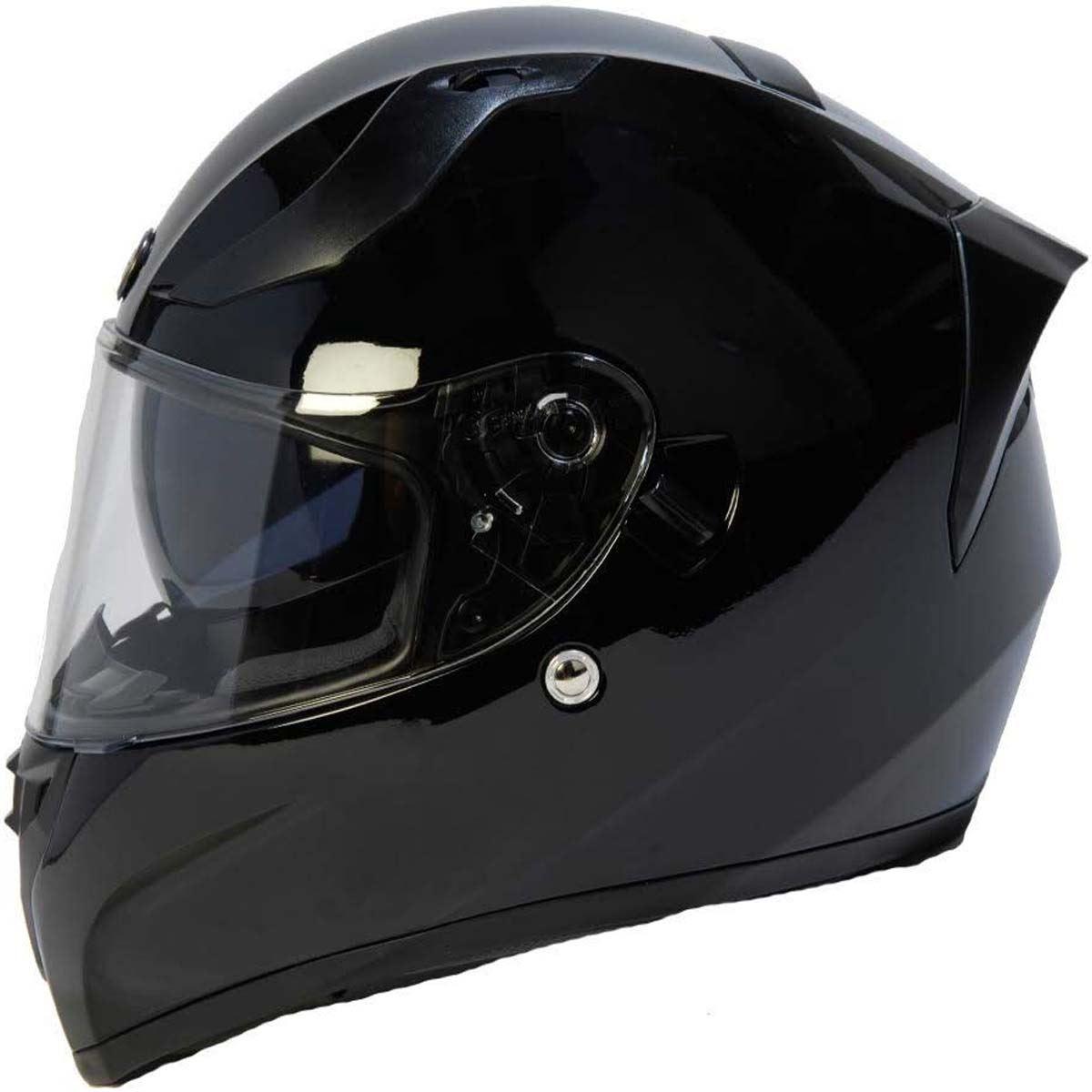 miniature 6 - Torc T15 T15B Helmet Bluetooth Blinc or without - Inner Sun Shield DOT XS-2XL