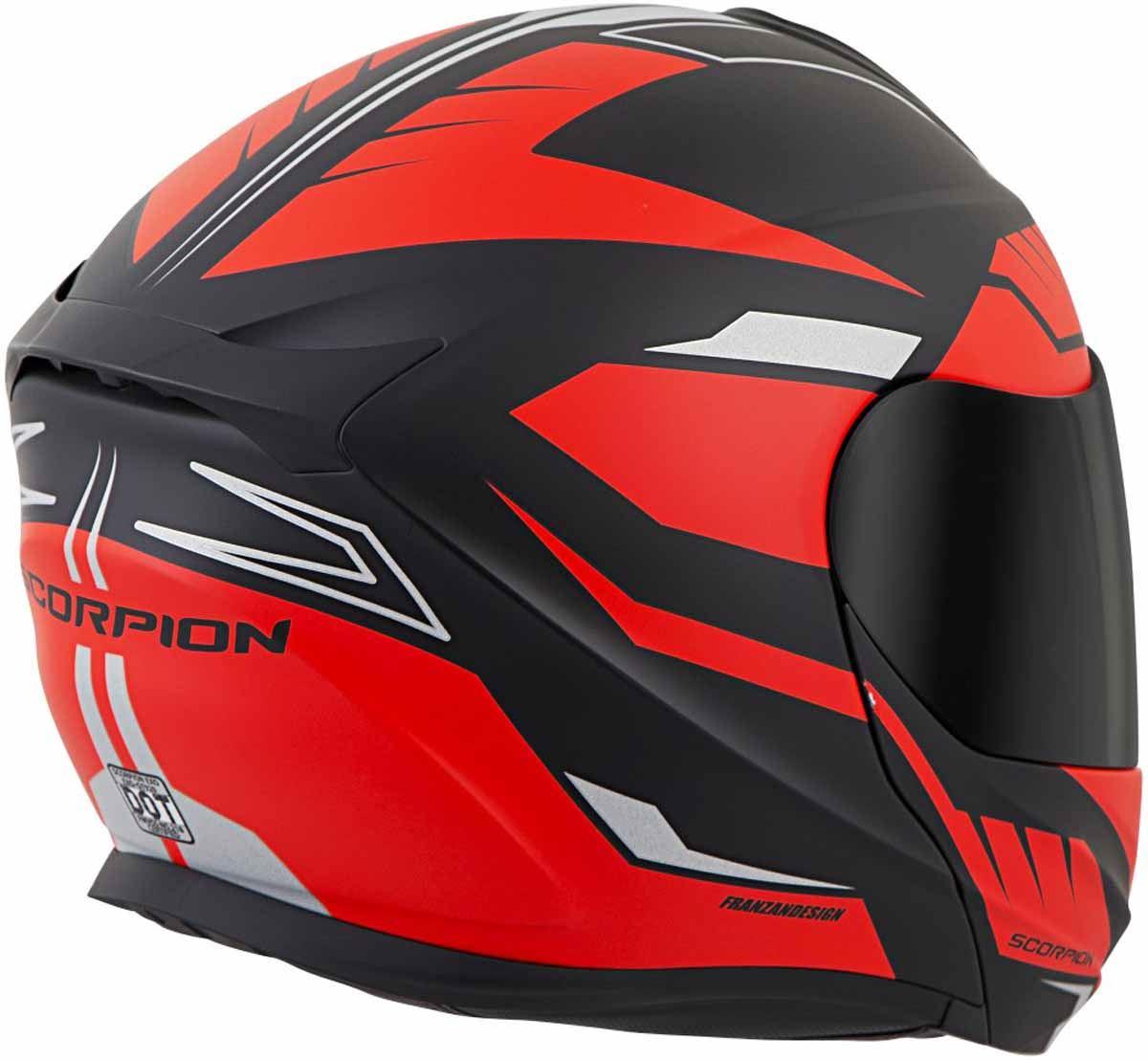 Scorpion-EXO-GT920-Helmet-Sport-Touring-Modular-Flip-Up-DOT-Approved-XS-3XL miniature 41