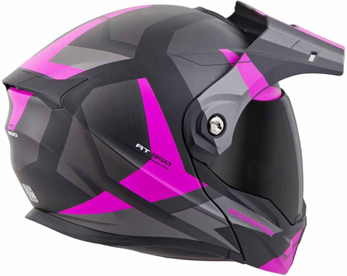 Scorpion-EXO-AT950-Helmet-Flip-Up-Modular-Dual-Sport-Adventure-ADV-DOT-XS-3XL miniature 46