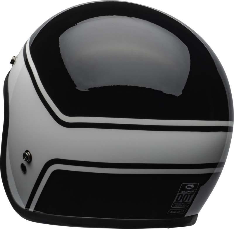 Bell-Custom-500-Helmet-3-4-Open-Face-Vintage-Retro-Motorcycle-5-Snap-XS-2XL miniature 40