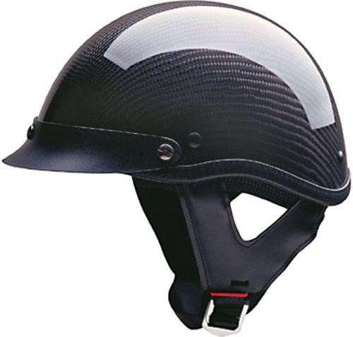miniature 13 - HCI 100 Half Helmet Motorcycle Shorty with Visor DOT Approved XS S M L XL 2XL