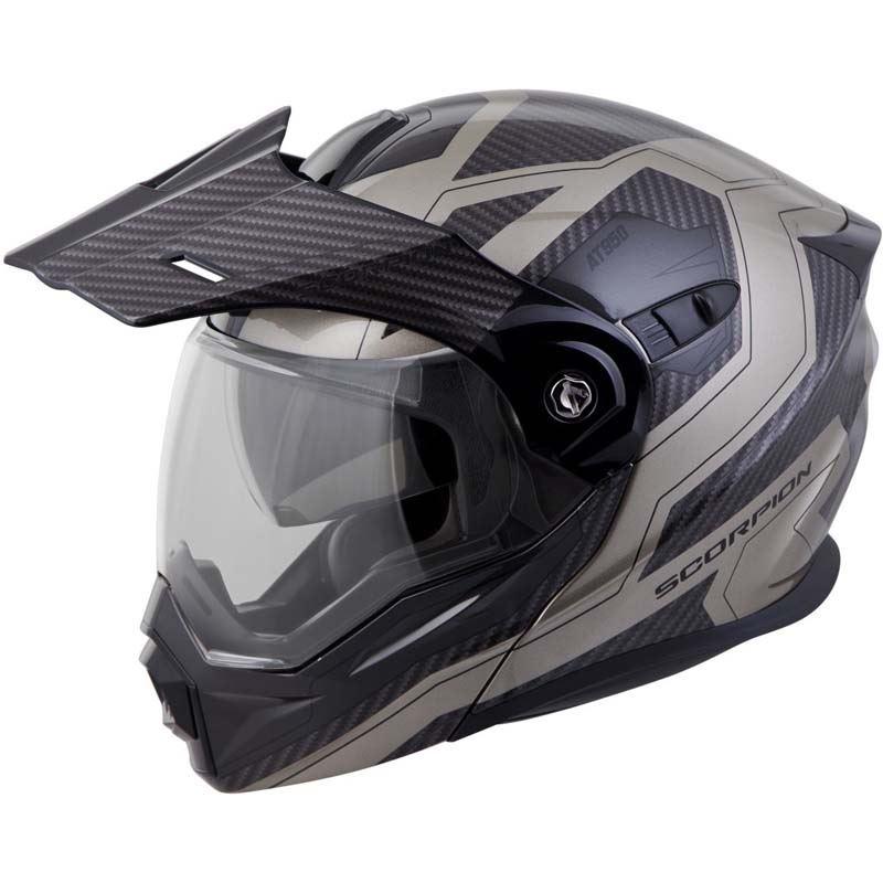 Scorpion-EXO-AT950-Helmet-Flip-Up-Modular-Dual-Sport-Adventure-ADV-DOT-XS-3XL miniature 70