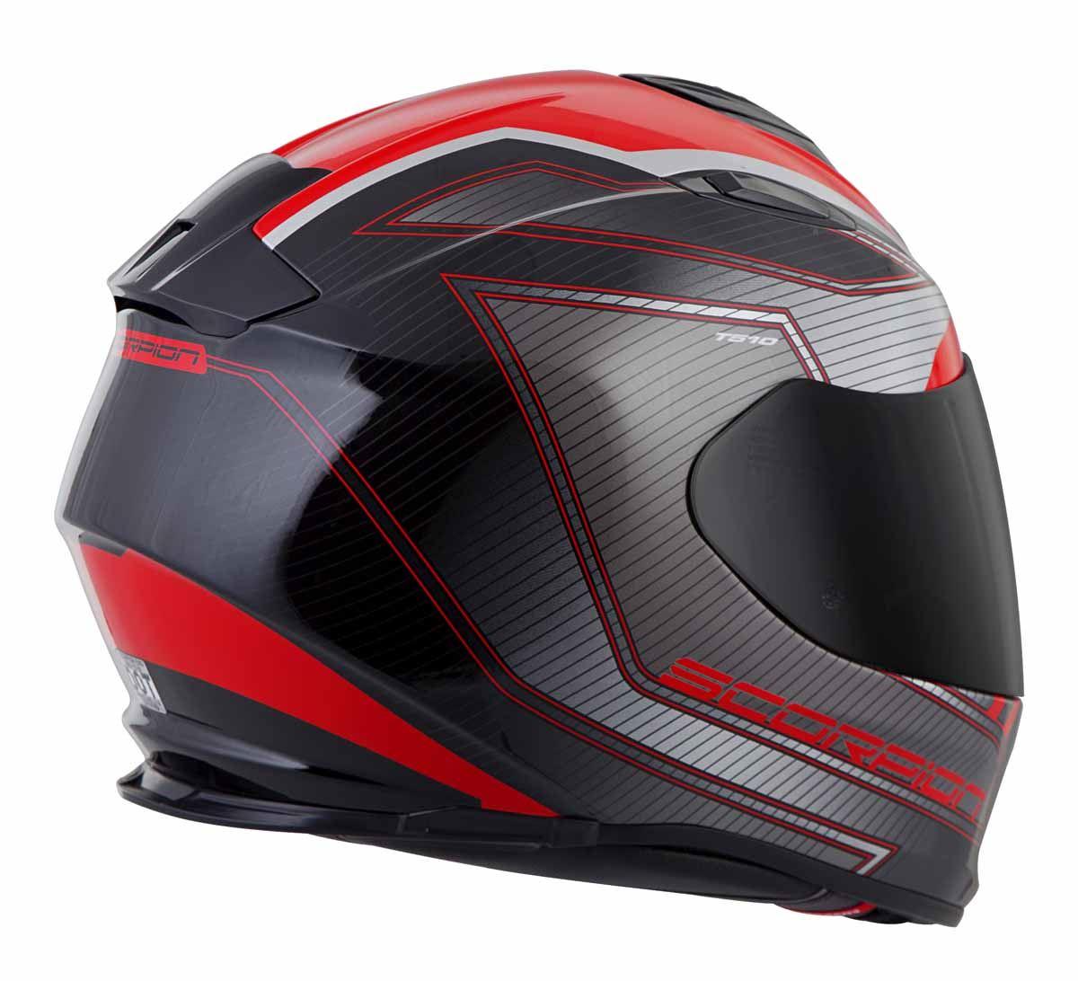 Scorpion-EXO-T510-Helmet-Full-Face-DOT-Approved-Inner-Sun-Shield miniature 23