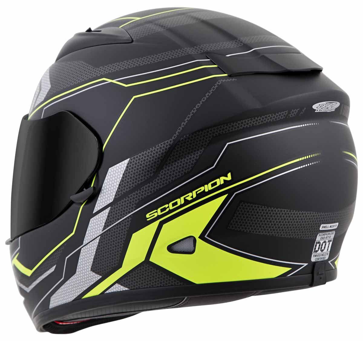 Scorpion-EXO-R710-Helmet-Fiberglass-Full-Face-DOT-SNELL-M2015-Certified-XS-2XL miniature 30