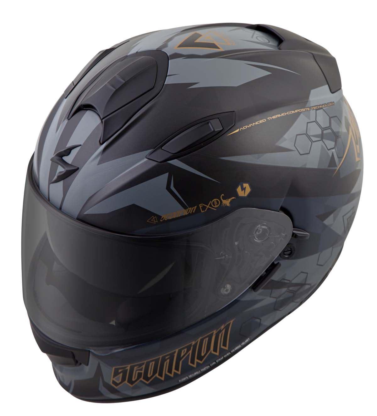 Scorpion-EXO-T510-Helmet-Full-Face-DOT-Approved-Inner-Sun-Shield miniature 45