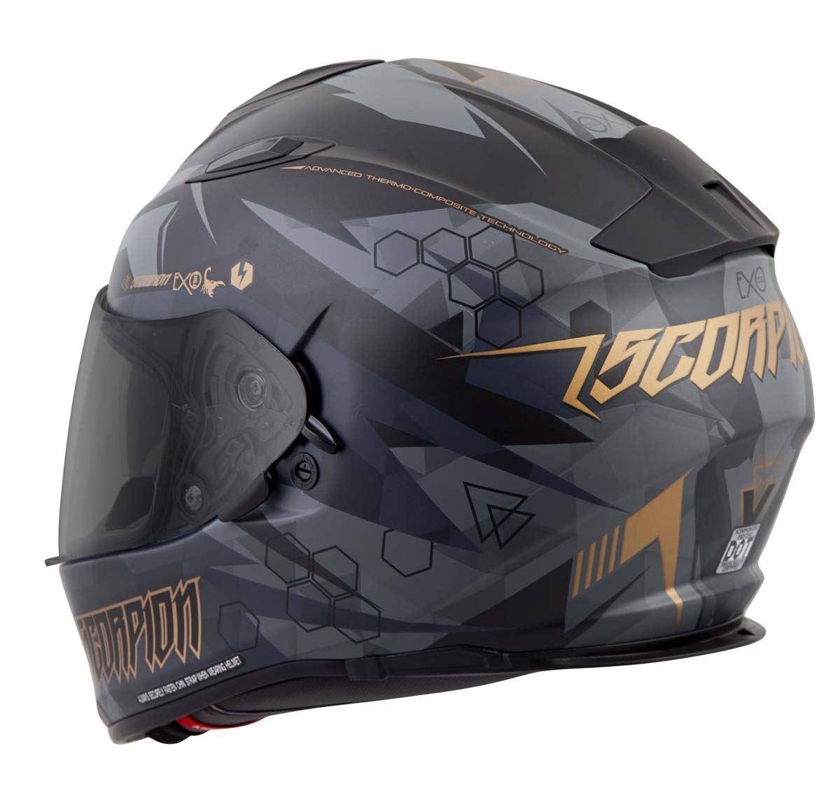 Scorpion-EXO-T510-Helmet-Full-Face-DOT-Approved-Inner-Sun-Shield miniature 46