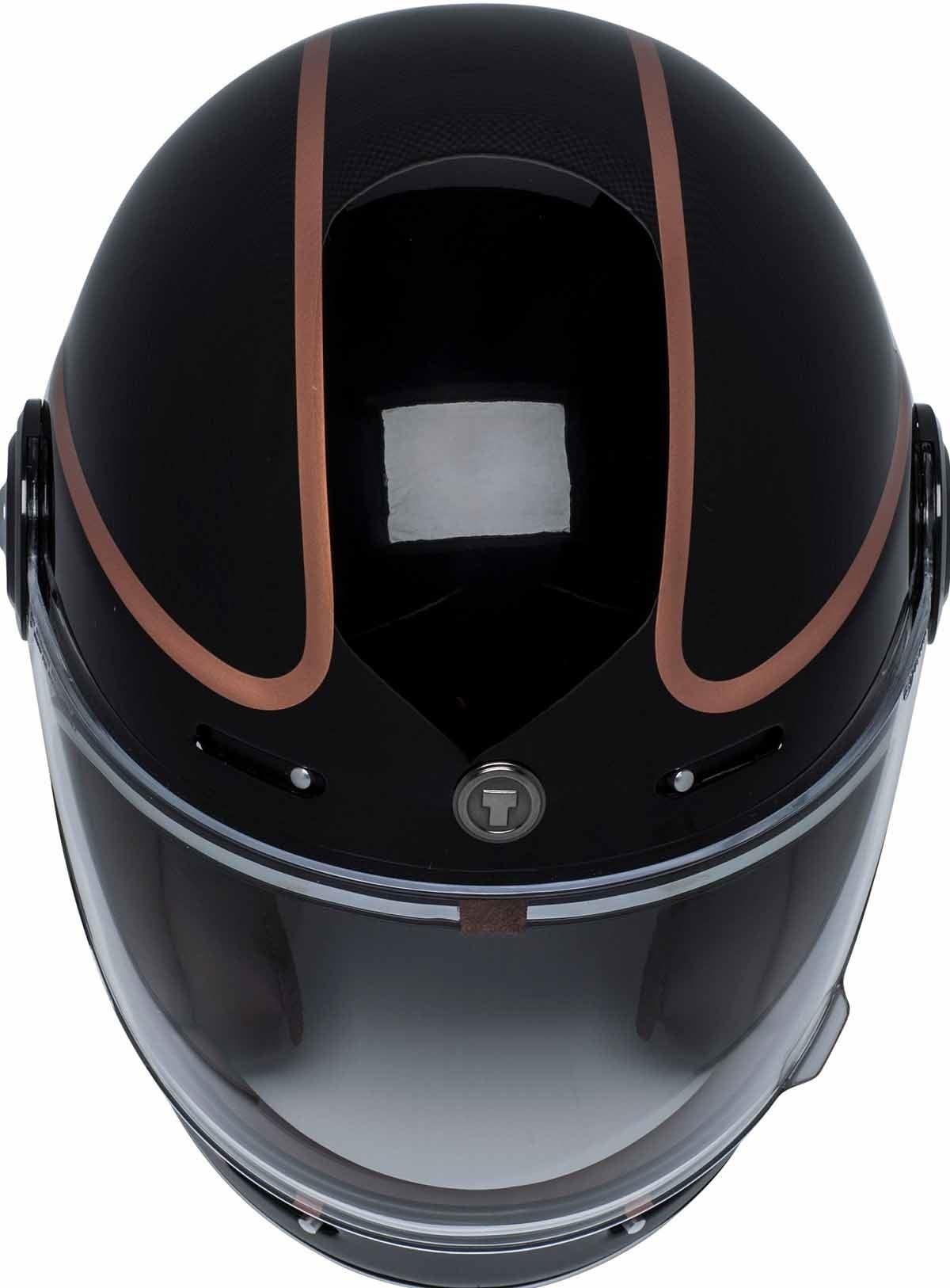 miniature 20 - Torc T1 Helmet Retro Vintage Style Fiberglass DOT Approved XS-2XL
