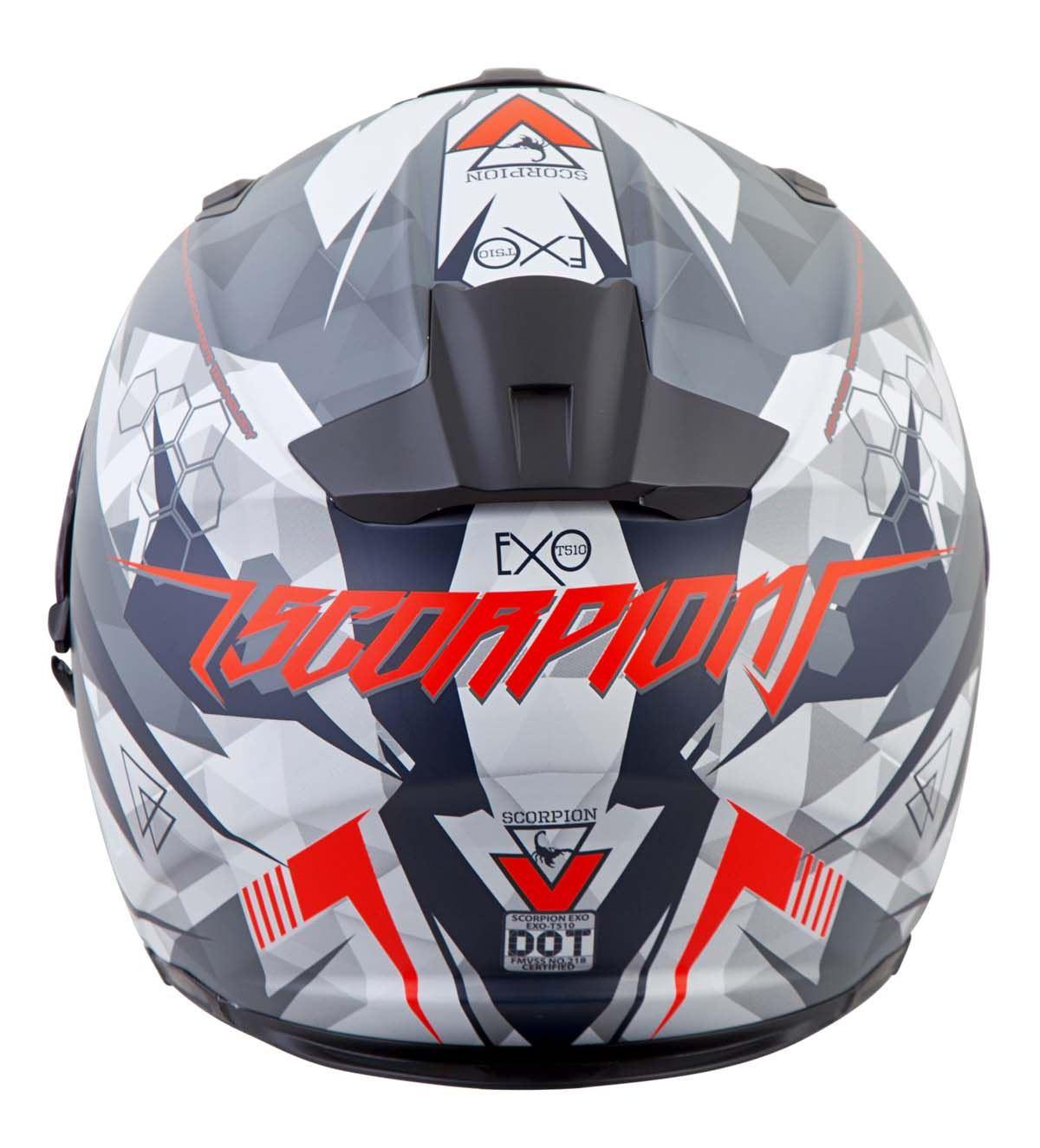 Scorpion-EXO-T510-Helmet-Full-Face-DOT-Approved-Inner-Sun-Shield miniature 55