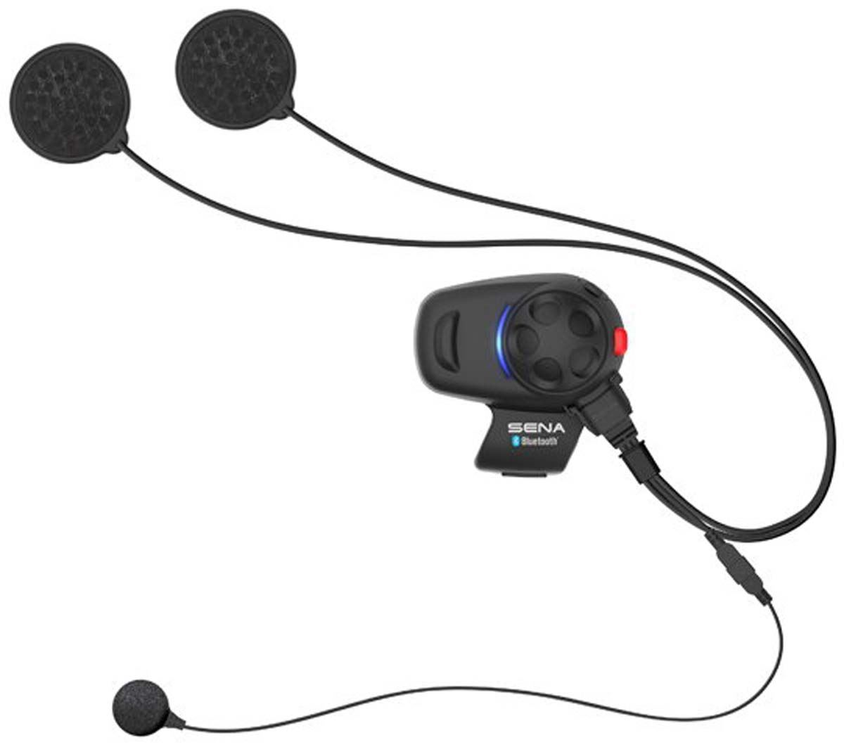 b1d66cdb7c0 Sena SMH5 Motorcycle Bluetooth Headset & Intercom Universal Mic Kit ...