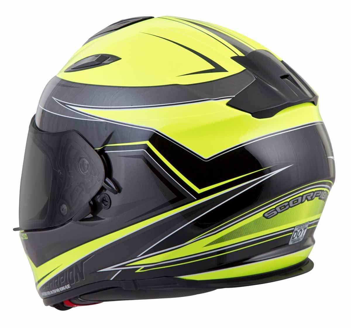 Scorpion-EXO-T510-Helmet-Full-Face-DOT-Approved-Inner-Sun-Shield miniature 40