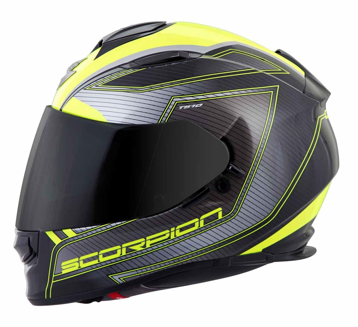 Scorpion-EXO-T510-Helmet-Full-Face-DOT-Approved-Inner-Sun-Shield miniature 25