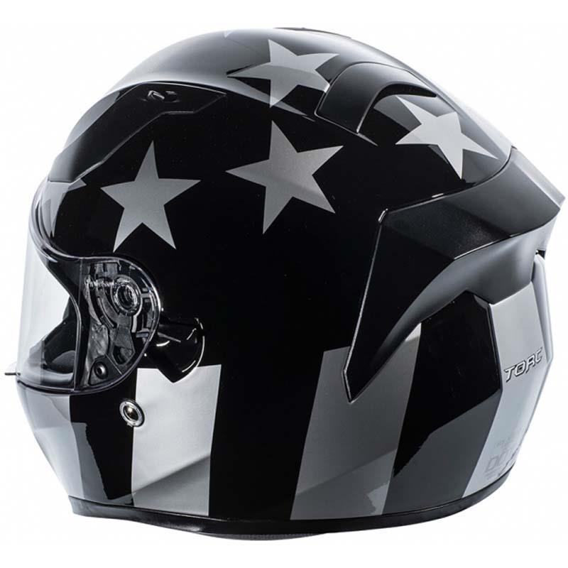 miniature 16 - Torc T15 T15B Helmet Bluetooth Blinc or without - Inner Sun Shield DOT XS-2XL