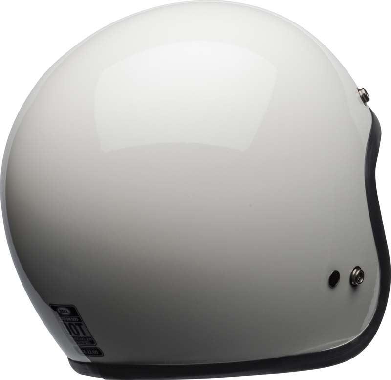 Bell-Custom-500-Helmet-3-4-Open-Face-Vintage-Retro-Motorcycle-5-Snap-XS-2XL miniature 18