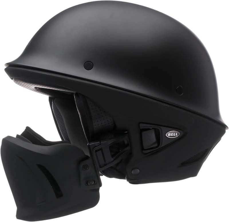 Bell-Rogue-Helmet-Muzzle-Open-Face-Speaker-Pockets-Motorcycle-DOT-2020-XS-2XL miniature 5