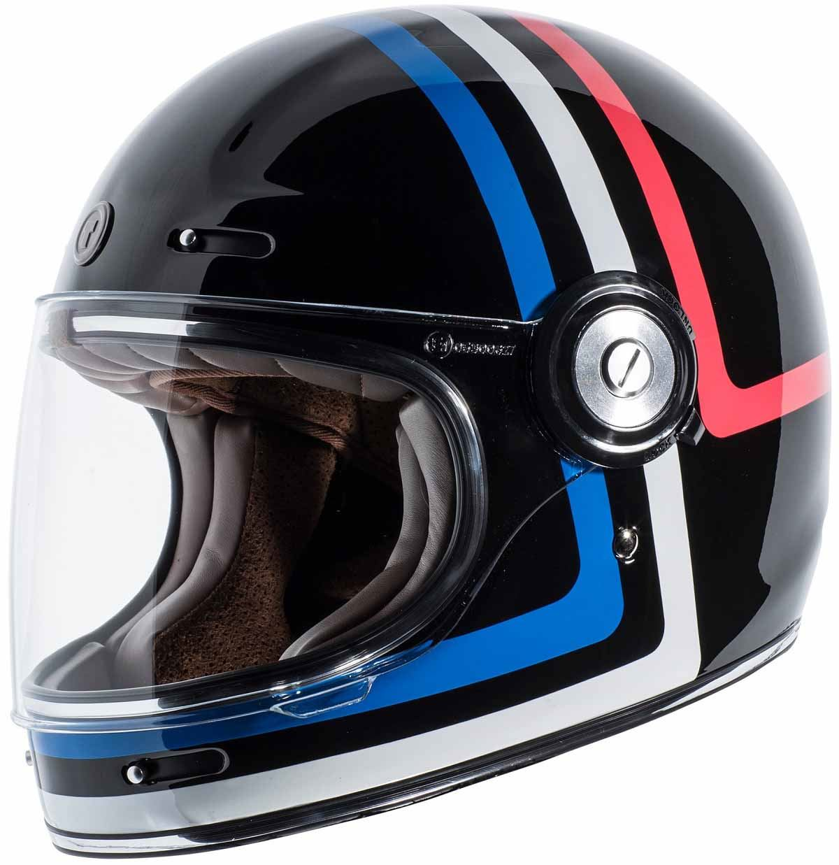 miniature 12 - Torc T1 Helmet Retro Vintage Style Fiberglass DOT Approved XS-2XL