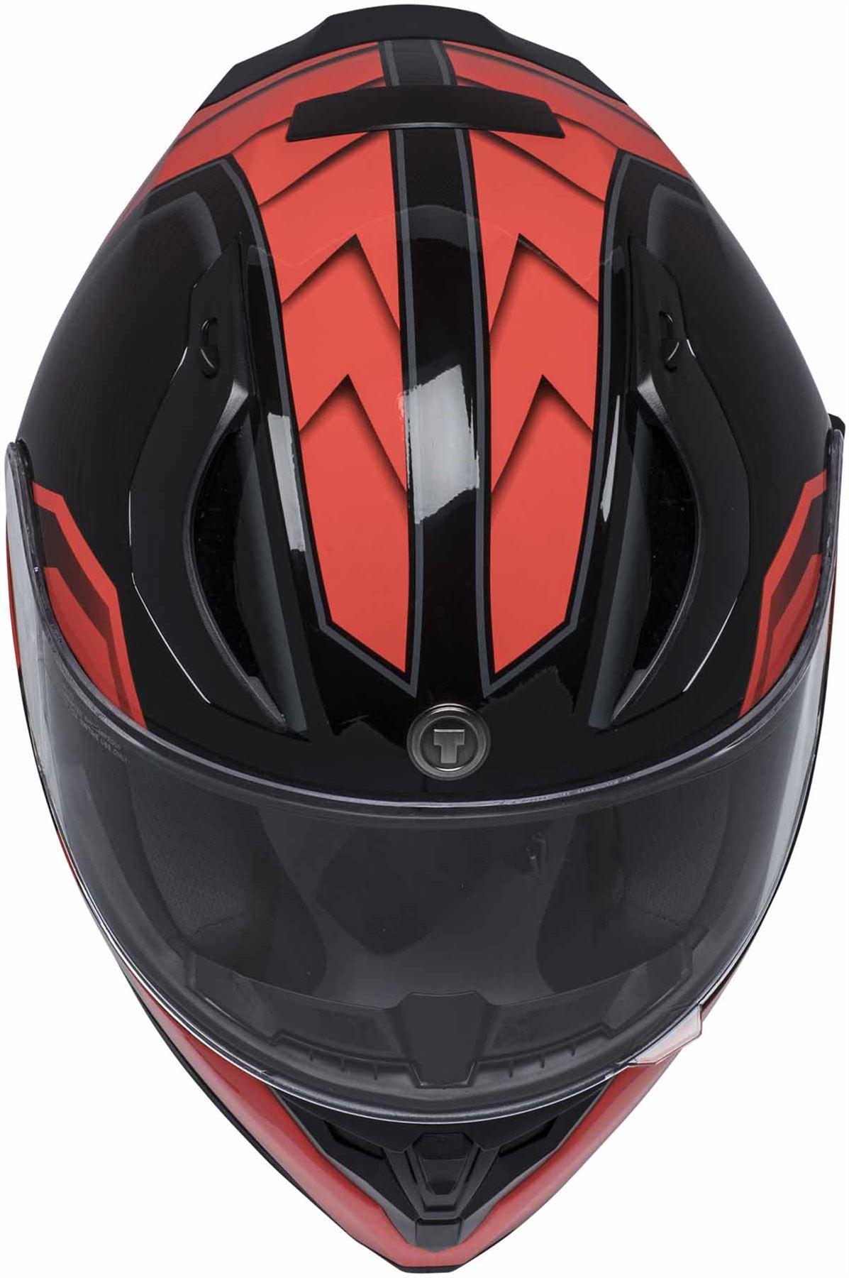 miniature 26 - Torc T15 T15B Helmet Bluetooth Blinc or without - Inner Sun Shield DOT XS-2XL