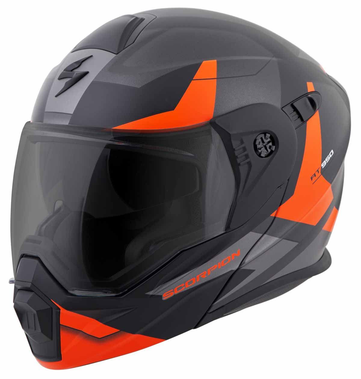 Scorpion-EXO-AT950-Helmet-Flip-Up-Modular-Dual-Sport-Adventure-ADV-DOT-XS-3XL miniature 49