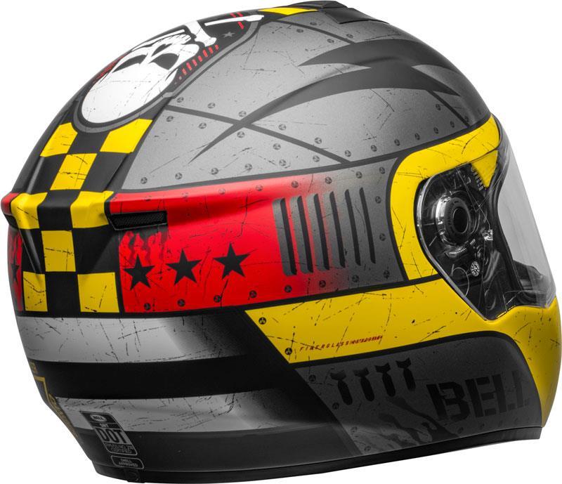 miniature 81 - Bell SRT Helmet Full Face Eyewear Friendly Fiberglass DOT SNELL M2015 XS-2XL