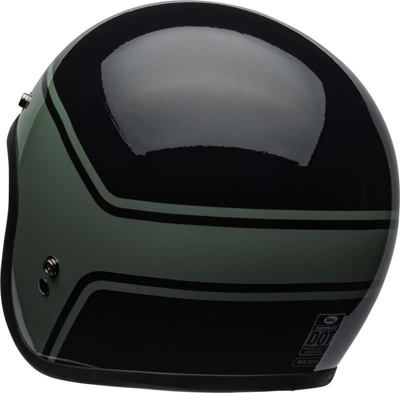 Bell-Custom-500-Helmet-3-4-Open-Face-Vintage-Retro-Motorcycle-5-Snap-XS-2XL miniature 32